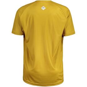 Maloja SchwarzerleM. Multi Short Sleeve Multisport Jersey Men, amarillo